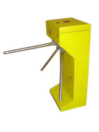 چین Vertical Stainless Steel Tripod Turnstile Gate For Park or Airport کارخانه