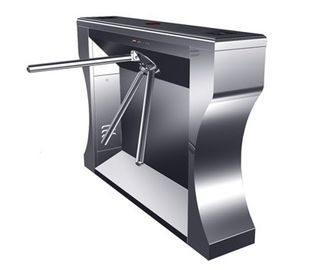 چین Intelligent Electrical Stainless Tripod Turnstile For Bus Station کارخانه