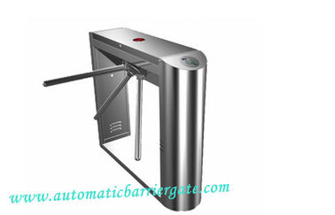چین Automatic Access Control Tripod Turnstile Gate 0.2S Time Attendance کارخانه