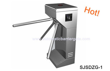 چین Digital Double Direction Stainless Steel ID Card Tripod Turnstile Gate for Supermarket کارخانه