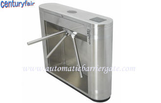 چین Stainless Steel Tripod Turnstile Gates For Supermarket Time Attendance کارخانه