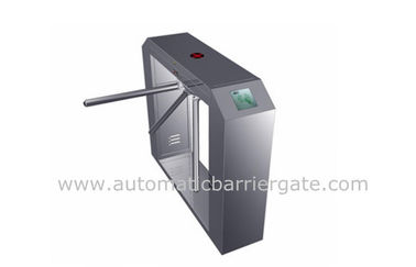 چین High Class Stainless Steel ID Card Tripod Turnstile Gate with Single Direction کارخانه