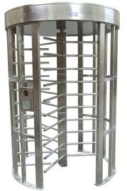 چین Outdoor Rustproof Full Height Turnstile with Light Alarm for Park RS485 AC220V 50Hz RS485 کارخانه