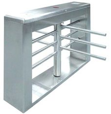 چین One-way Direction Automatic Rotation Full Height Turnstile with LED Display for Museum کارخانه