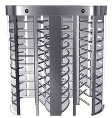 چین Indoor One-way Direction Full Height Turnstile with Stainless Steel Tube for Bus Station کارخانه