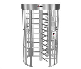 چین 0.2S Electric Security Stainless Steel Full Height Turnstile with Light Alarm RS485 کارخانه