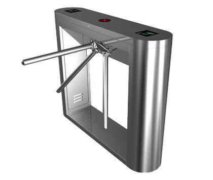 Magnetic Card Stainless Steel Tripod Turnstile Gate for Supermarket تامین کننده