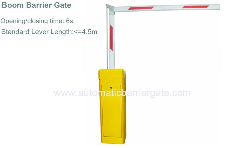 3S/6S Customizable Reliable Powder Coating Automatic Barrier Gate for School, Hospital, Living Area, Government تامین کننده